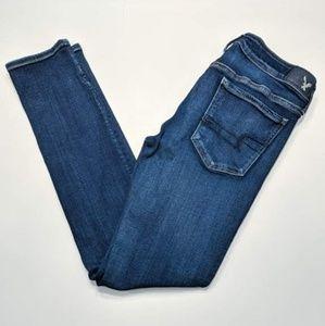 American Eagle Super Super Stretch Skinny Jeans 10